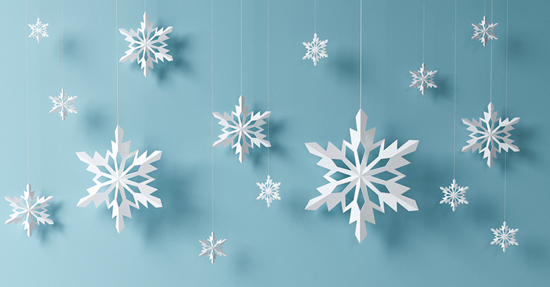 Christmas Snowflakes.The Best 10 Paper Snowflakes You Can Diy For Christmas
