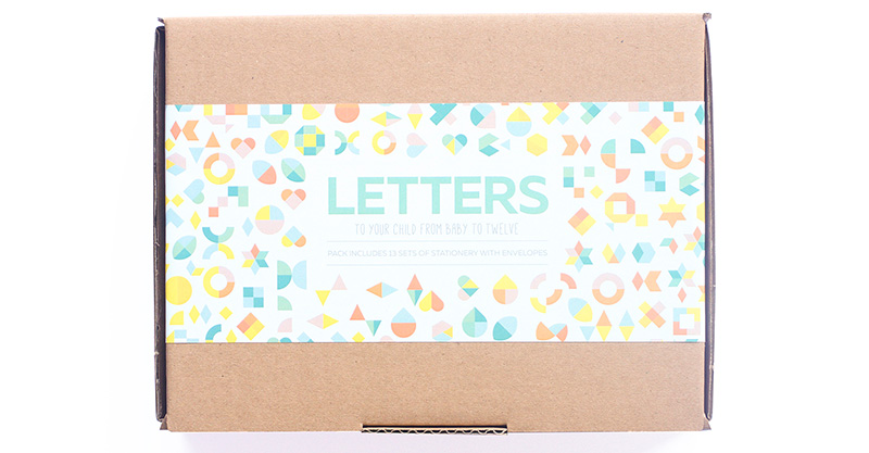 Sent with love, Letters To My Child - sweet keepsake stationery