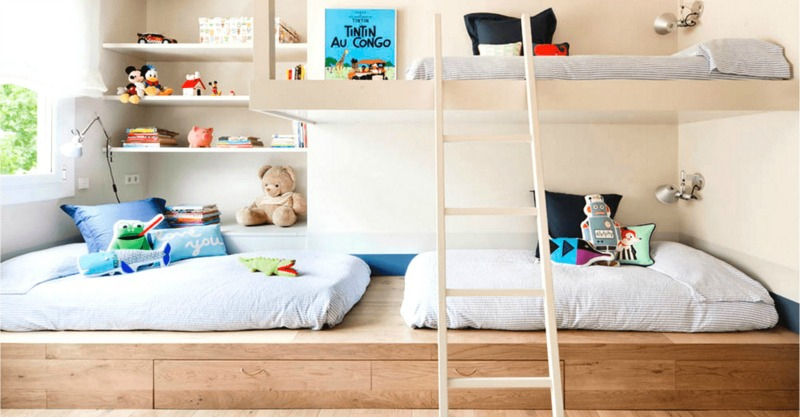 10 Space Saving Shared Bedroom Ideas For Kids