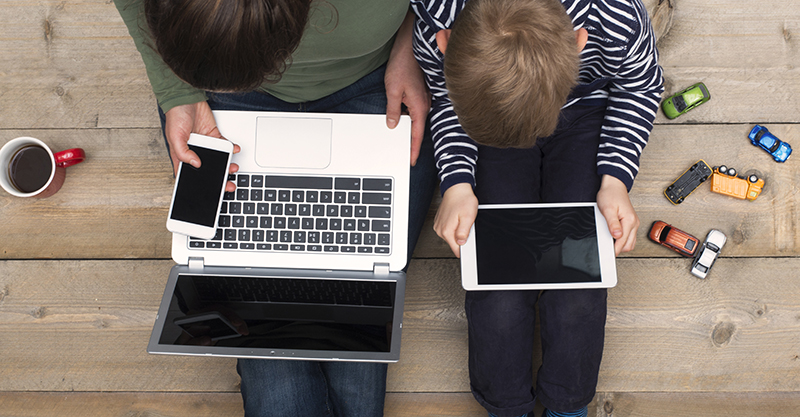 Don't write us off! Here's why stay-at-home mums deserve that job